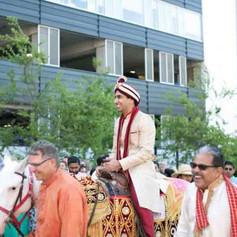 Indian Baraat Parade