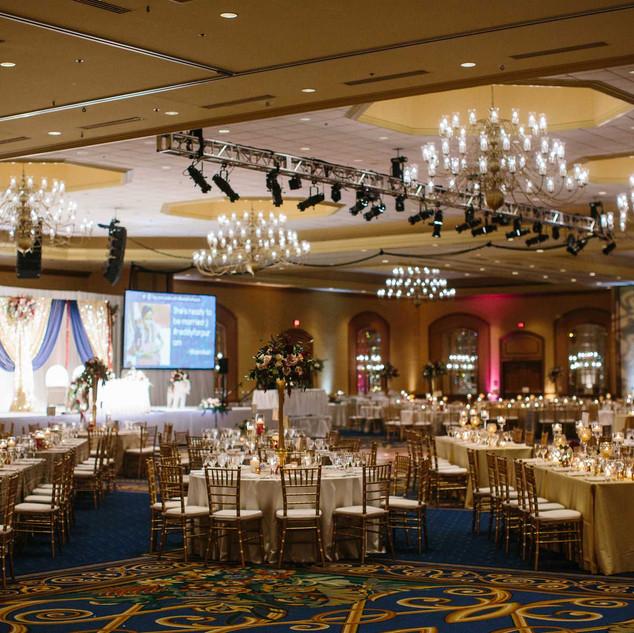 Indian-wedding-reception-burgundy-and-go