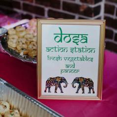 Indian Dosa Sign