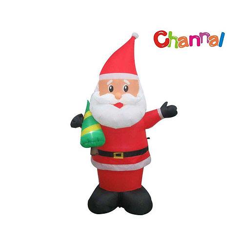 Small Inflatable Santa Claus