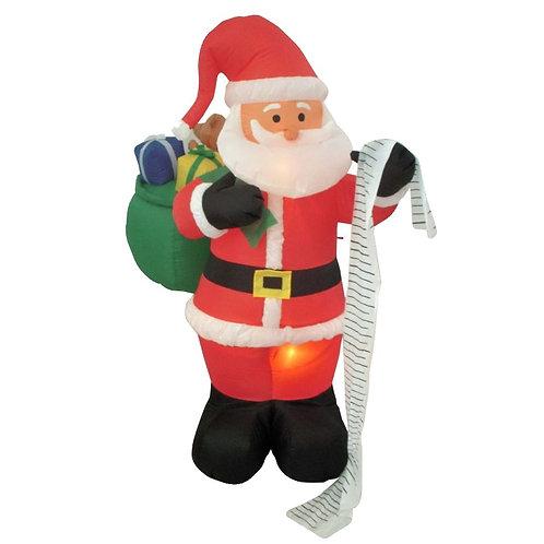 Inflatable Santa Naughty or Nice List