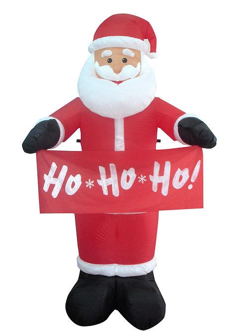 Inflatable Santa With HoHoHo