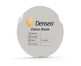 Denseo Zirkon Blanks transluzent, weiß für Zirkonzahn®