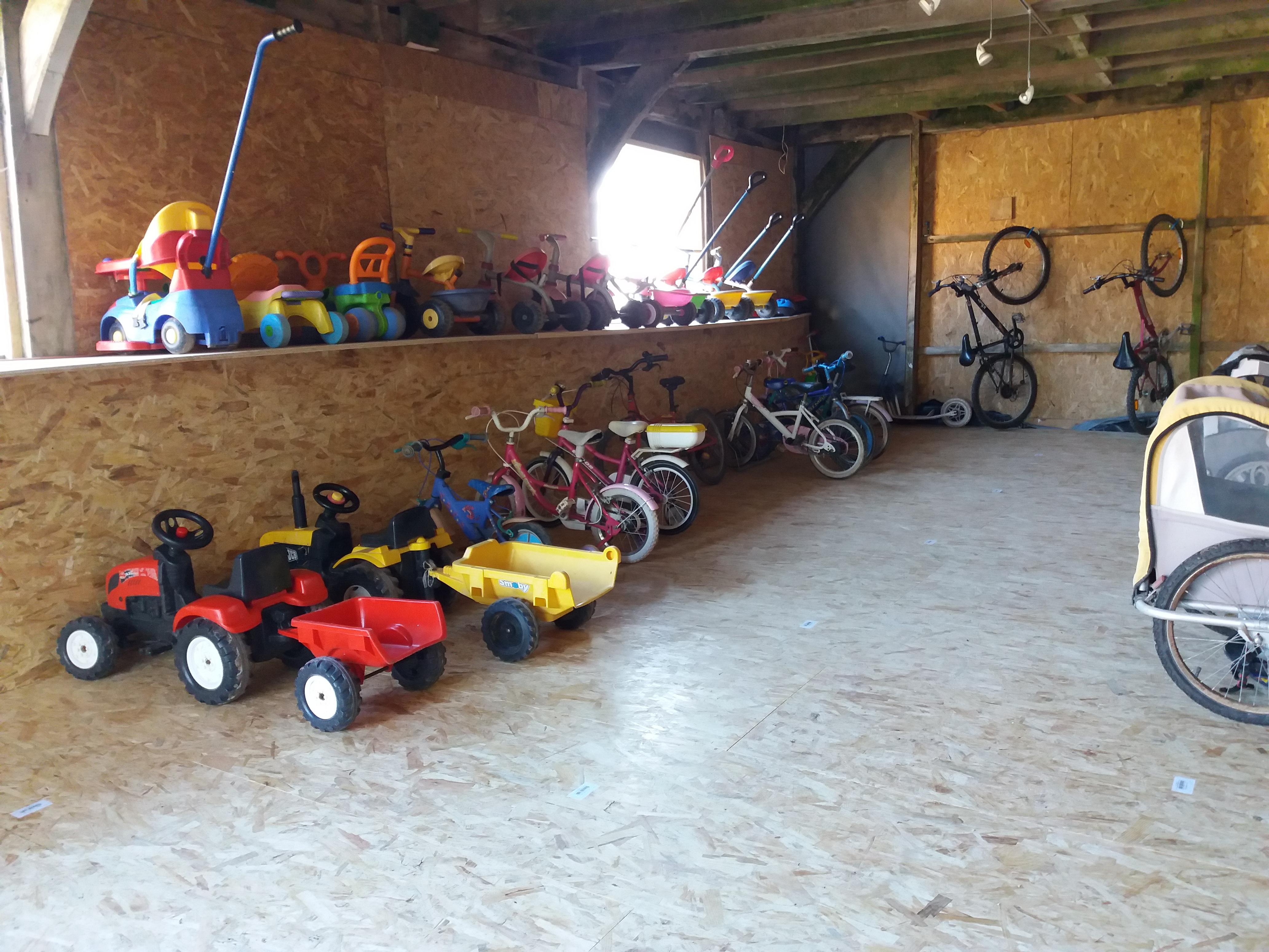 les vélos enfants