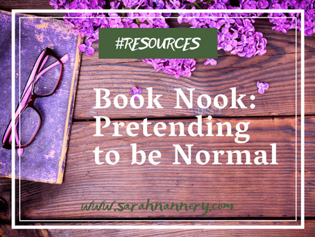 Book Nook: Pretending to be Normal