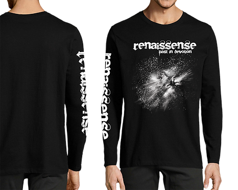 T-Shirt - Past In Devotion - Long sleeve - Black/White