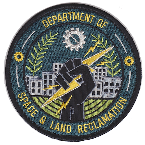 Department of Space and Land Reclamation Patch