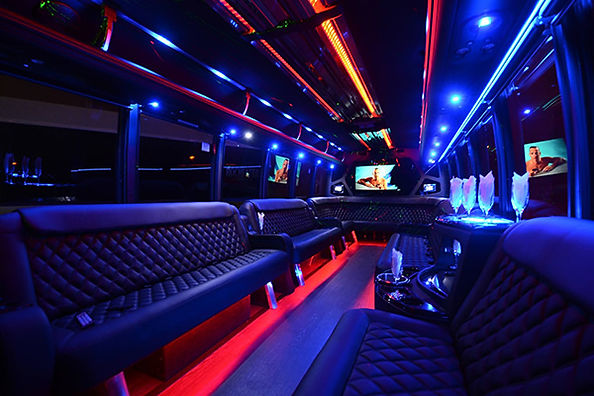 Party Limousine Bus in Rhode Island