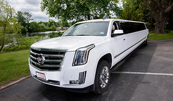 Cadillac stretch limo servicing Newport and Providence RI