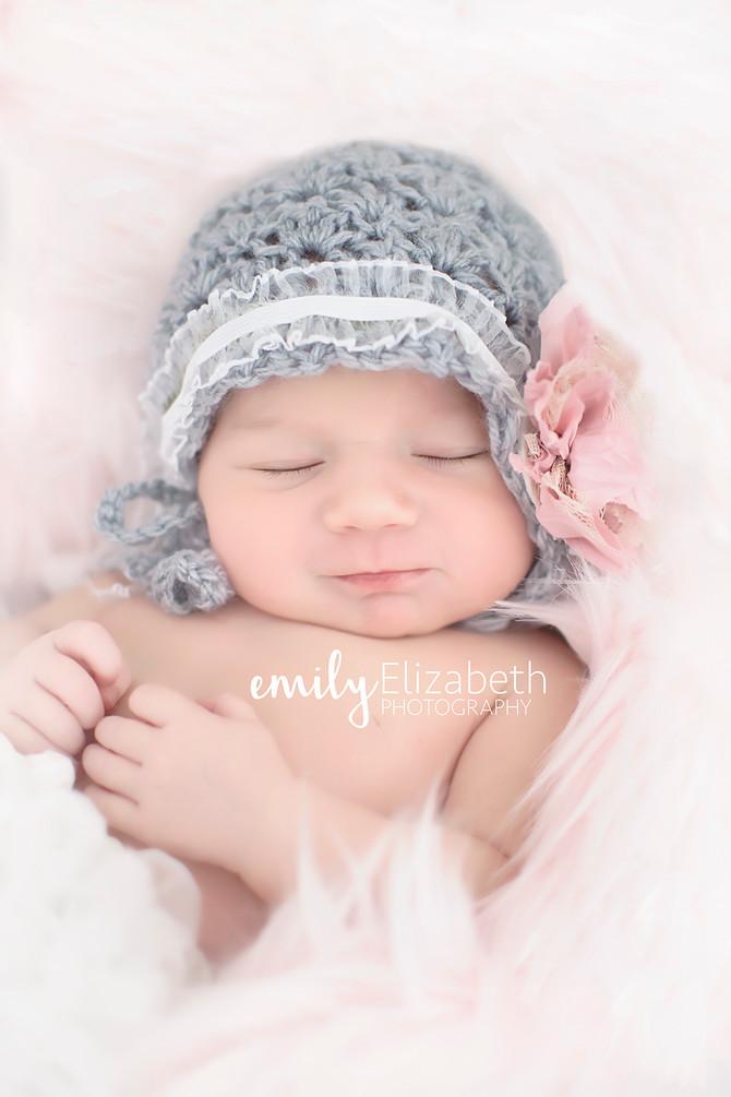 Baby Lainey Catherine's newborn session!