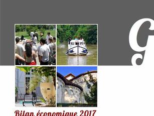 Découvrez le Bilan économique complet du Tourisme du Gers 2017