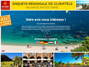 Enquête régionale de clientèle: soyez relais auprès de vos touristes!