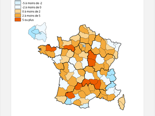 INSEE : hausse du nombre de nuitées dans le Gers à la mise en place du confinement