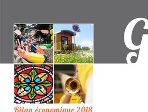 Le Bilan Économique du Tourisme du Gers 2018 est en ligne !