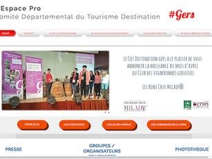 Avril 2018 : près de 500 000 pages vues sur www.tourisme-gers.com
