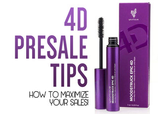 HOW TO ROCK Your 4D Mascara Presales