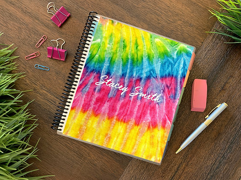 TIE DYE  | 2021 12 MONTH  Direct Sales Planner