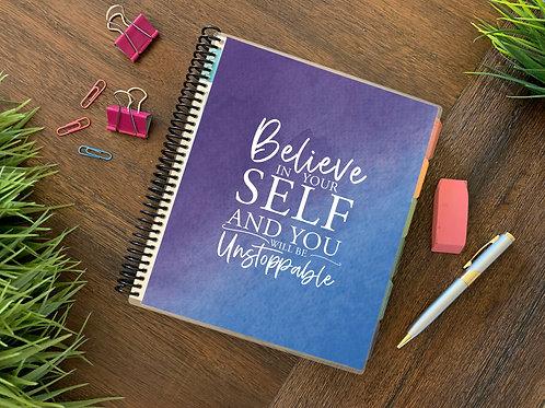 2021 BELIEVE IN YOURSELF 12 Month Planner (generic)