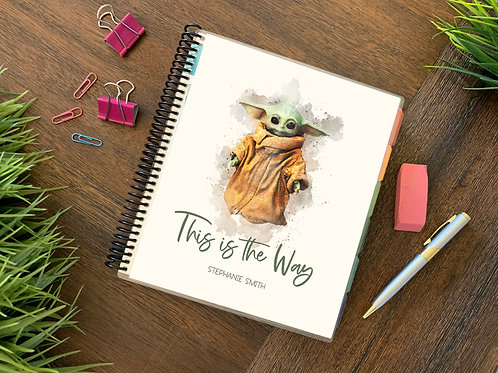 BABY YODA   | 2021 6 MONTH  Direct Sales Planner