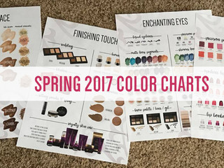 2017 Spring Color Charts