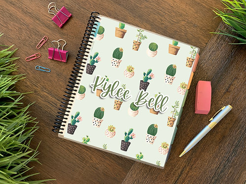 I HEART CACTUS | 2021 6 MONTH  Direct Sales Planner