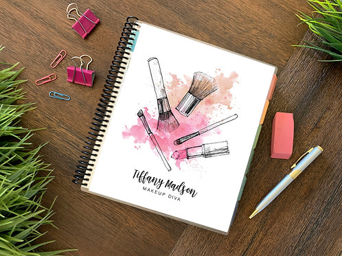 MAKEUP DIVA  | 2021 6 MONTH  Direct Sales Planner
