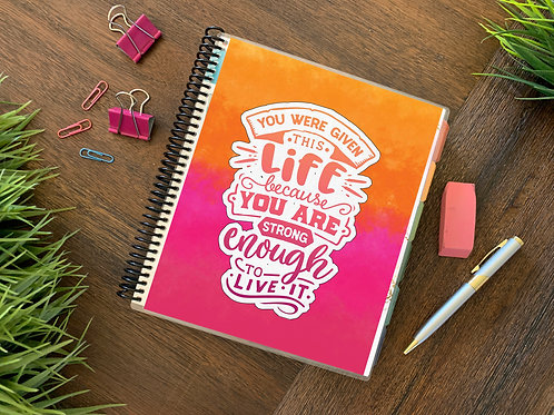 STRONG ENOUGH  |  12 Month Planner (generic)
