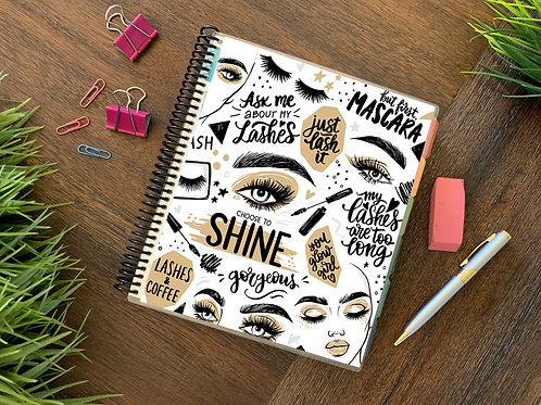 Jan - Jun LUXE LASHES   | 2021 6 MONTH  Direct Sales Planner