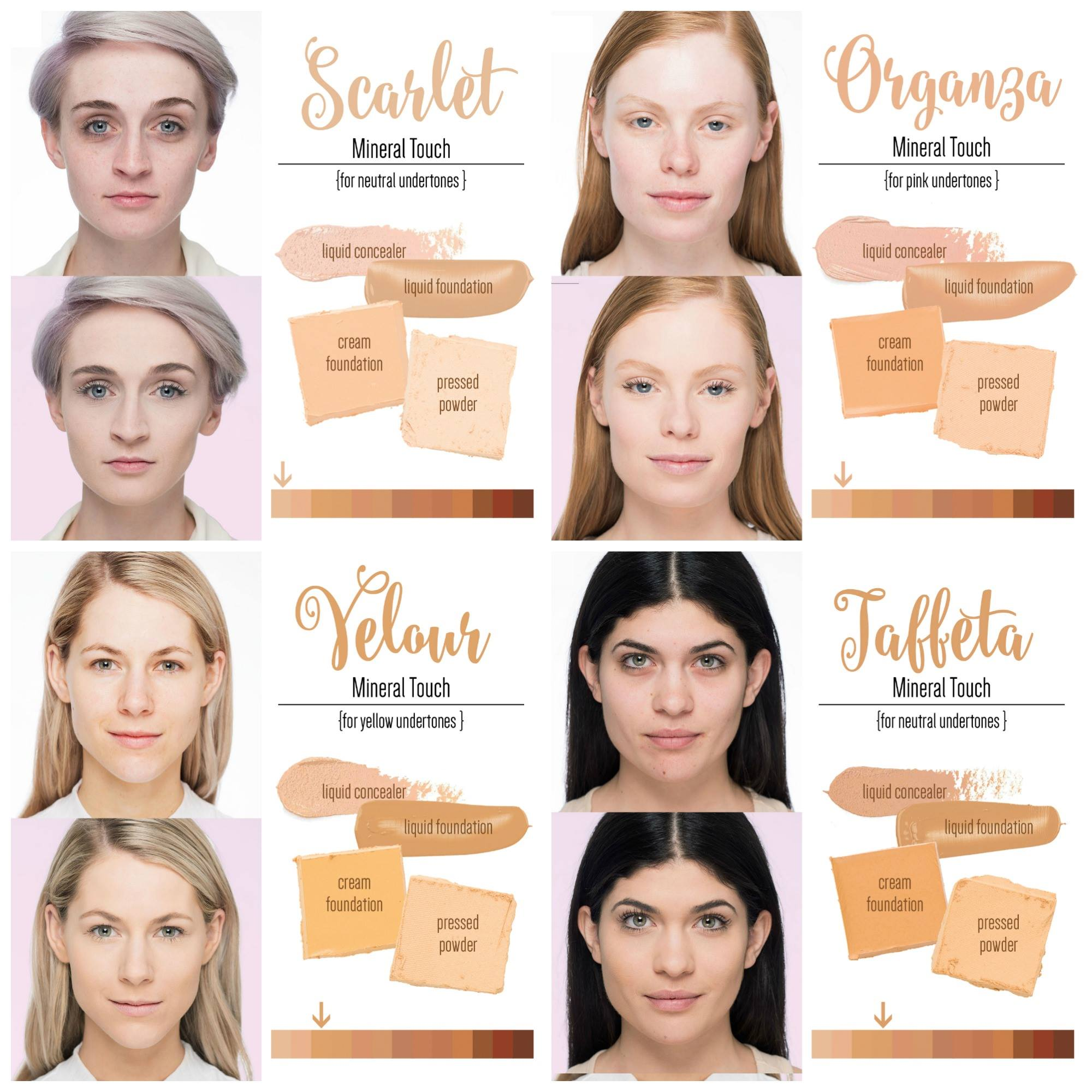 foundation for neutral skin tone