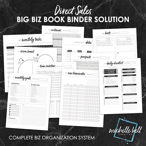BIG BIZ BOOK BINDER SOLUTION
