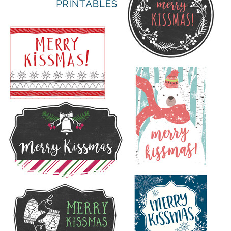 FREEBIE! Merry Kissmas Printable
