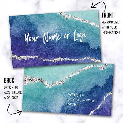 Custom Biz Card - Geode