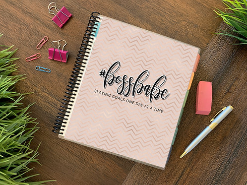 BOSS BABE  | 2021 12 MONTH  Direct Sales Planner