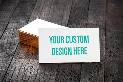 CUSTOM BUSINESS CARD DESIGN (digital file)