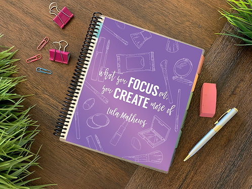 PURPLE MAKEUP | 2021 12 MONTH  Direct Sales Planners