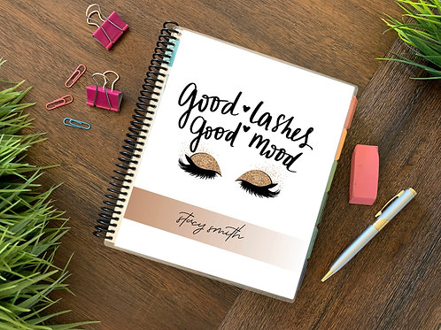GOOD LASHES  |  12 Month Planner (generic)