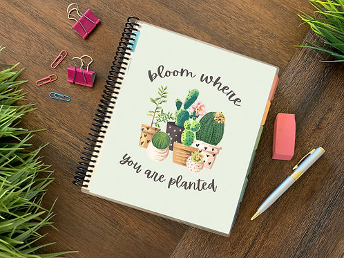 BLOOM | 2021 12 MONTH  Direct Sales Planners