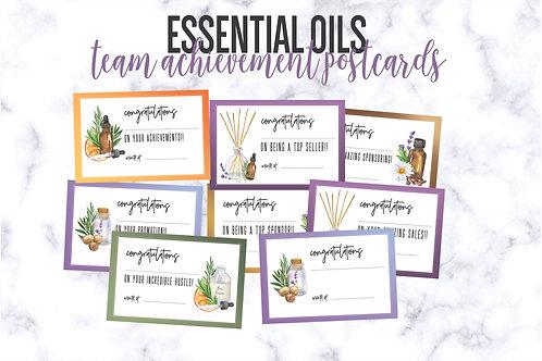 Essential Oil Team Postcards