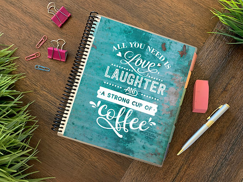 LOVE & COFFEE  | 2021 12 MONTH  Direct Sales Planners (2 options)