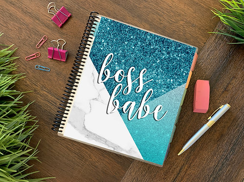 BOSS BLUE | 2021 12 MONTH  Direct Sales Planner