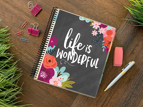 2021 LIFE IS WONDERFUL 12 Month Planner (generic)