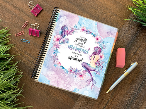 BE A MERMAID  | 2021 12 MONTH  Direct Sales Planner