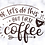 """Thumbnail: Planner Cover - for Disc Planners """"But First, Coffee"""""""