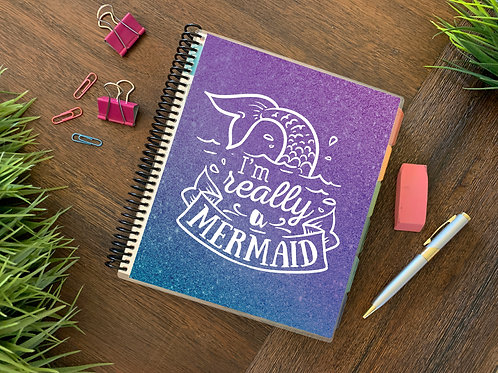 I'M REALLY A MERMAID  | 2021 6 MONTH  Direct Sales Planner