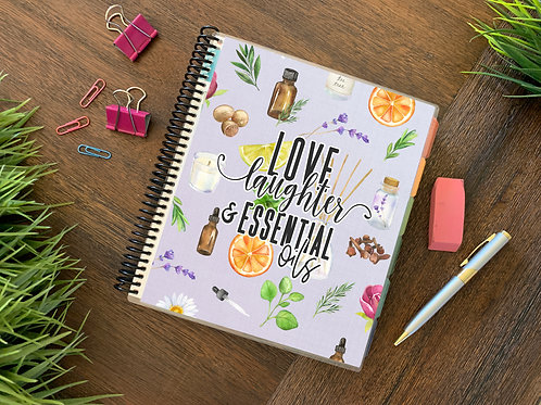 LOVE & OILS  | 2021 6 MONTH  Direct Sales Planner