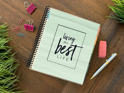 Living My Best Life | JUL-DEC Direct Sales Planner