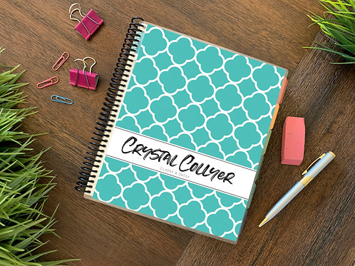 Teal | JUL-DEC Direct Sales Planner