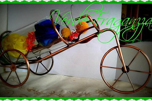 Bicicleta 2 rosas