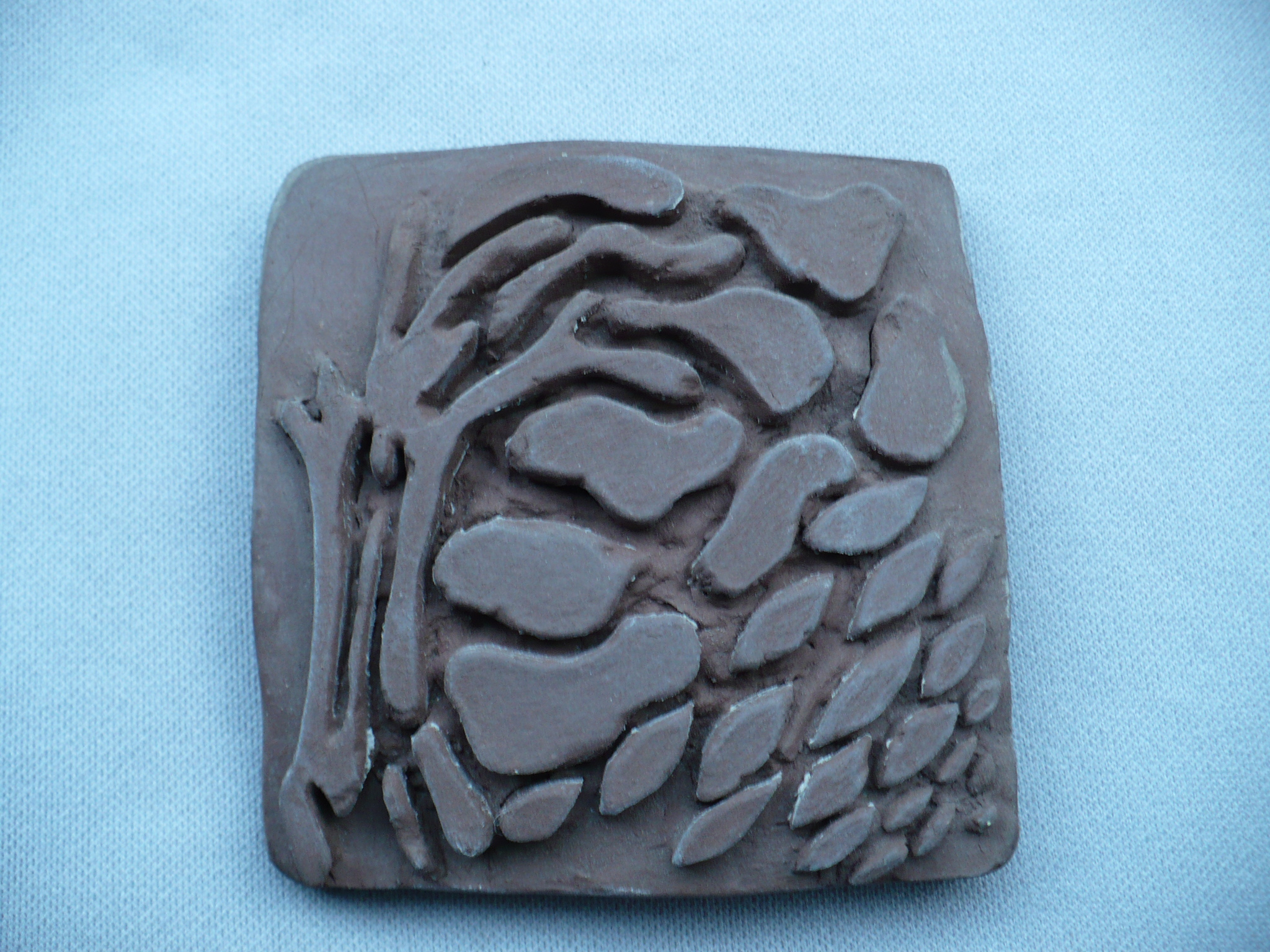 Handmade Tree Tile