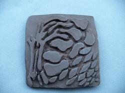 Handmade Tree Tile